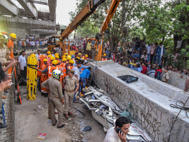 Varanasi flyover collapse Narendra Modi a servant of politics and not people says Congress