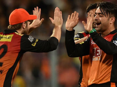 Sunrisers Hyderabad bowler Rashid Khan was named Man-of-the-Match after they beat Kolkata Knight Riders in Qualifier 2 of IPL2018 atEden Gardens on Friday. PTI