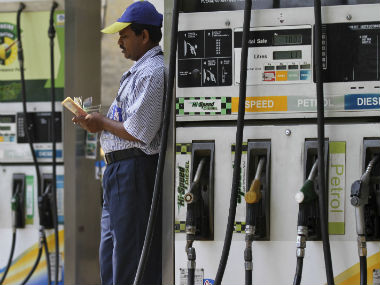 Petrol price slips below Rs 74mark in Delhi for first time since April sixweek long rate cut wipes off all fuel hikes