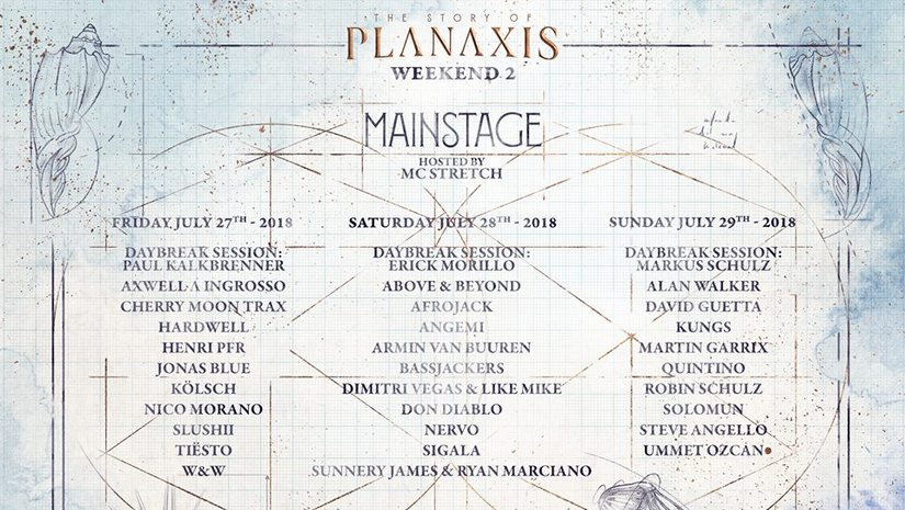 Tomorrowland announces full details of this years theme The Story of Planaxis with immersive trailer