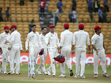 The first two sessions were a harsh lesson for debutants Afghanistan until they fought back late on day 1. AP