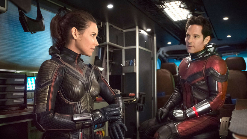 AntMan and the Wasp review roundup Paul Rudd is witty Evangeline Lilly radiant in upcoming Marvel film