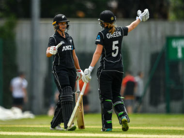 Suzie Bates and Maddy Green led the way for New Zealand. Image credit: Twitter/@WHITE_FERNS