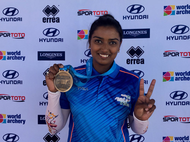 Indian archer Deepika Kumari bags gold in womens recurve event at Stage 3 of Archery World Cup
