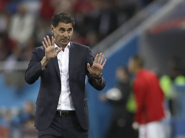 FIFA World Cup 2018 Spain must improve and defend better says coach Fernando Hierro after Morocco draw