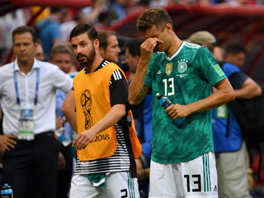 FIFA World Cup 2018 Defending champions Germany dumped out of tournament after shock defeat to South Korea