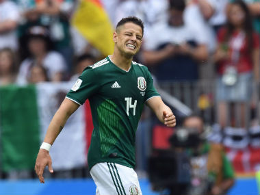FIFA World Cup 2018 Javier Hernandez urges fans to stop homophobic chants after governing body fines Mexico for misconduct