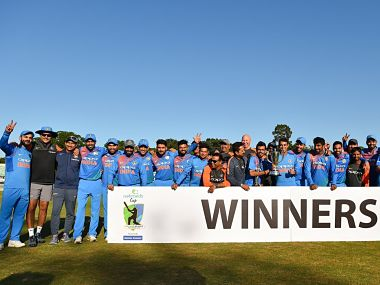 India registered the second largest victory in T20Is by margin of runs. Image courtesy: BCCI