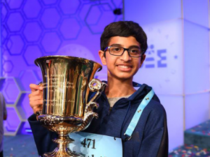 IndianAmerican Karthik Nemmani spells koinonia to become Scripps National Spelling Bee champion