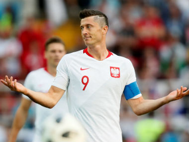 FIFA World Cup 2018 Isolated Robert Lewandowski left frustrated by stout Senegal defence in Polands opening match