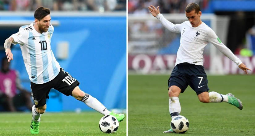 FIFA World Cup 2018 Frances Round of 16 clash against Argentina promises entertaining battle of counterattacks