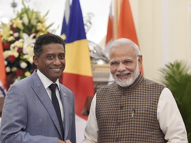Seychelles president in India Danny Faure holds frank talks with Narendra Modi agrees to work on Assumption Island deal