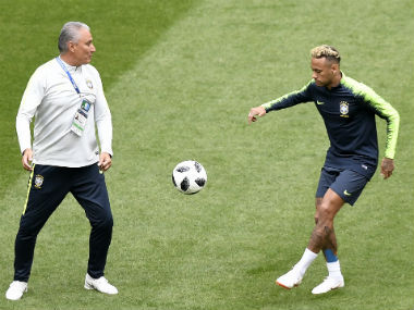 FIFA World Cup 2018 Brazil boss Tite says he wont sacrifice Neymars genius for teams sake against Costa Rica