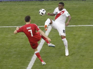 Peru vs Denmark LIVE football score and updates FIFA World Cup 2018 Match 7 in Saransk