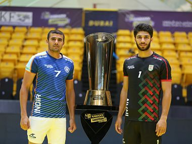 Highlights Kabaddi Masters Dubai FINAL India vs Iran Ajay Thakur leads from front as India win title