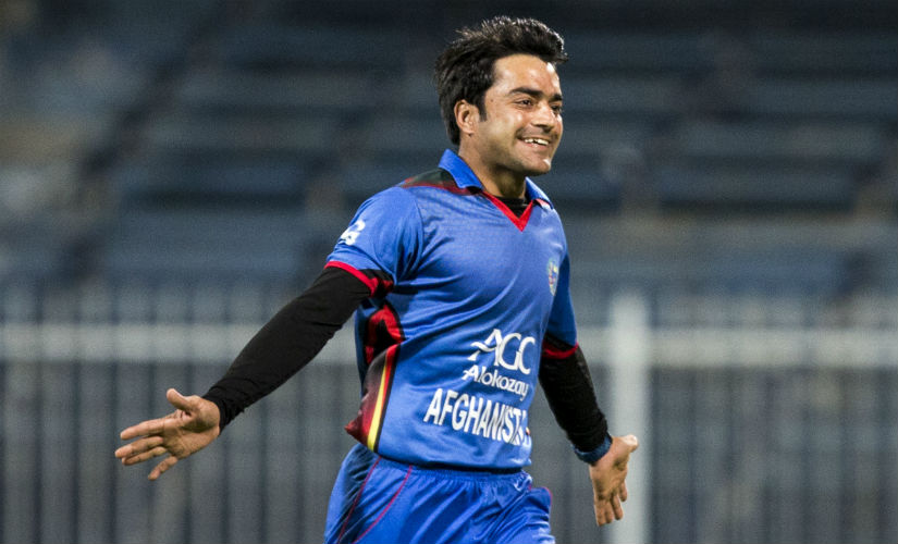 Rashid Khan has been in raging form with the ball, both in the IPL as well as in the T20I series against Bangladesh. AFP