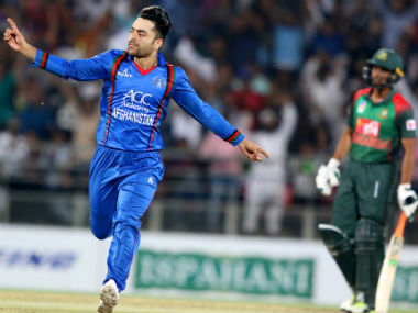 Rashid Khan will be key to Afghanistan's hopes of sealing the series in the 2nd T20I. AFP