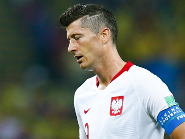 FIFA World Cup 2018 Robert Lewandowski fails to reproduce club form in international colours as Poland are eliminated