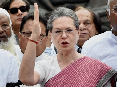 Sonia Gandhi leads Opposition MPs protest against Rafale deal on last day of Monsoon Session of Parliament