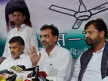 JDU hits out at Upendra Kushwaha over his remarks targetting Nitish Kumar terms comments prejudiced and provocative