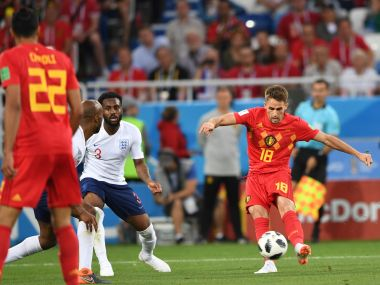 FIFA World Cup 2018 Fumbling forwards bungling defence highlight Englands tame loss to Belgium