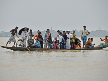 Flash floods triggered by monsoon kill dozens and displace lakhs in North East India Bangladesh