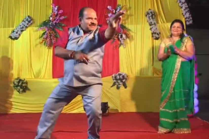 Watch Indias dancing uncle Sanjeev Shrivastava grooves to Tamma Tamma in new video