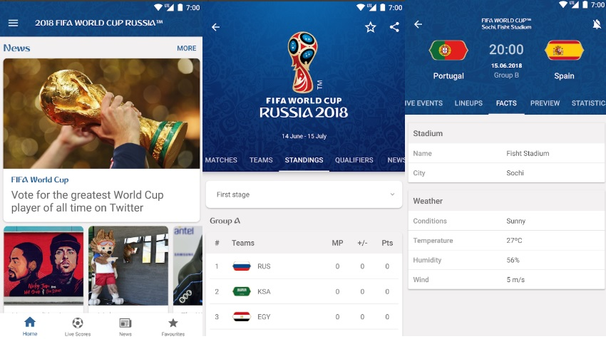 FIFA World Cup 2018 Five apps to ensure you dont miss a thing during the monthlong football mania