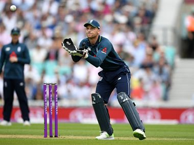 England's wicket-keeper Jos Buttler in action during the 2nd ODI against Australia. Reuters