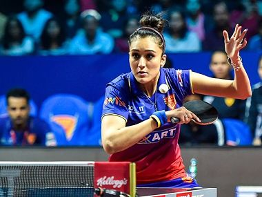 Ultimate Table Tennis 2018 Manika Batra Gnanasekaran Sathiyan win as Dabang Smashers rise to top