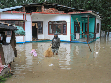 Flash floods in Jammu kill three people damage nearly dozen houses and wash away cattle officials issue advisory