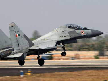 IAF Sukhoi Su30MKI jet crashes in open field in Nashik pilots eject safely third such crash in a month