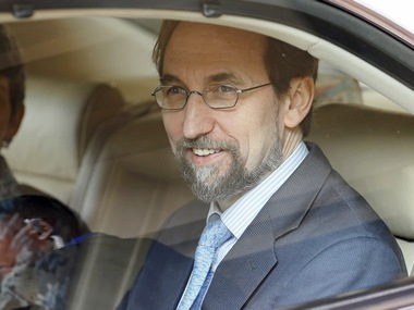 UN report on Kashmir Outgoing chief Zeid Raad Al Hussein lacks moral authority to speak on human rights
