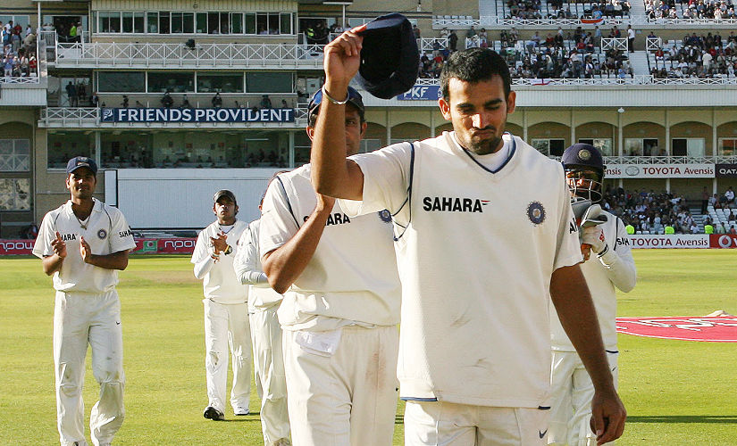 Zaheer took total of 9 wickets in second Test to power India to victory. AFP