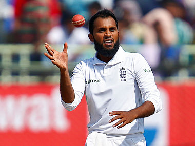Cricket - India v England - Second Test cricket match - Dr. Y.S. Rajasekhara Reddy ACA-VDCA Cricket Stadium, Visakhapatnam, India - 20/11/16. England's Adil Rashid catches the ball. REUTERS/Danish Siddiqui - S1AEUNWHVBAA