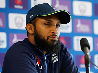 Cricket - England Press Conference - Emirates Old Trafford, Manchester, Britain - June 23, 2018 England's Adil Rashid during the press conference Action Images via Reuters/Craig Brough - RC1F4DC9F050