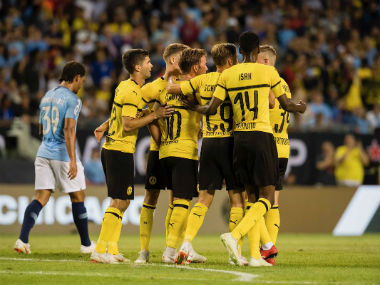 International Champions Cup 2018 Mario Gotze penalty guides Borussia Dortmund past young Manchester City