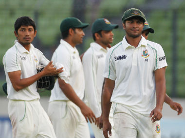 Bangladesh have lost six of their last seven Tests, and have won just 10 of the 108 matches they've played in the format till date. Reuters
