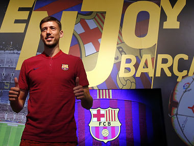 La Liga French defender Clement Lenglet signs for Barcelona from Sevilla on a fiveyear deal