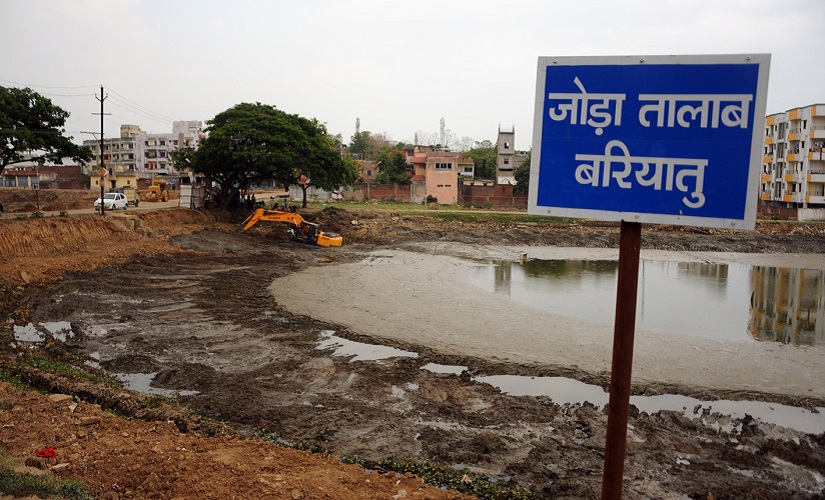 Indias water crisis Replenishing Jharkhands parched hydrological system one pond at a time