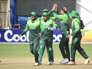 Pakistan. Image courtesy: @ZimCricTv