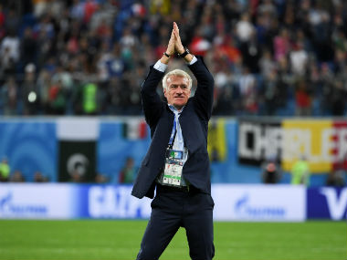 Franz Beckenbauer welcomes France coach Didier Deschamps to special club of World Cup winners