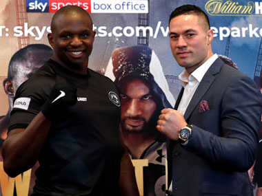 Dillian Whyte admits he cant match Anthony Joshuas good guy image ahead of Joseph Parker bout