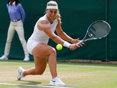 Wimbledon 2018 Dominika Cibulkova powers into quarterfinals with straight sets win against Hsieh Suwei