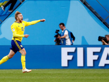 FIFA World Cup 2018 Emil Forsberg underlines his importance to Sweden with impressive display against fumbling Switzerland