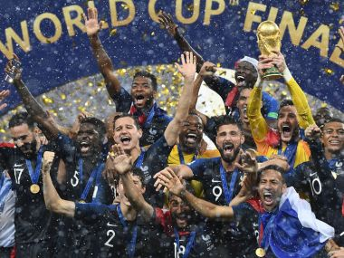 FIFA World Cup final between France and Croatia drew global audience of 112 billion according to sports governing body