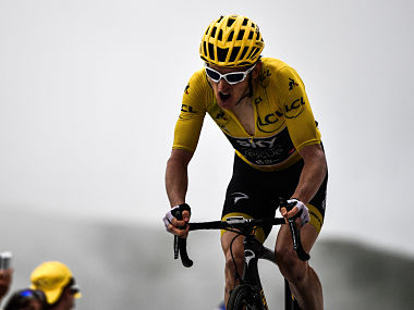 Tour de France 2018 Race leader Geraint Thomas warns rivals of squandering podium finish if they try to close down on him