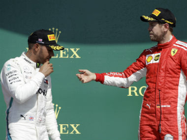 British Grand Prix: Unhappy Lewis Hamilton points finger at Ferrari's 'interesting tactics' after finishing second in race