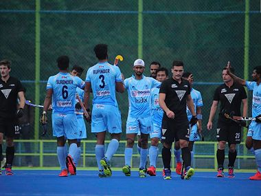 India put on an impressive show to defeat New Zealand in hockey take 10 lead in 3match series