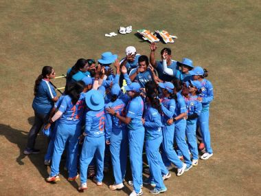 File image of the Indian women's cricket team. Image courtesy: Twitter @BCCIWomen
